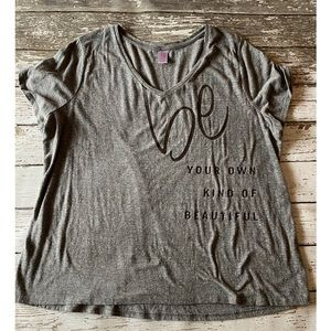 Lane Bryant Livi Active V Neck Tee 18 20